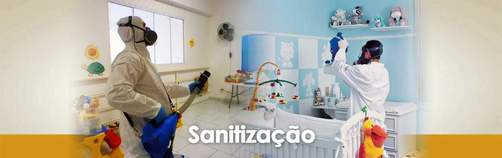 Sanitização 2 - Desinfecção - Sanitização