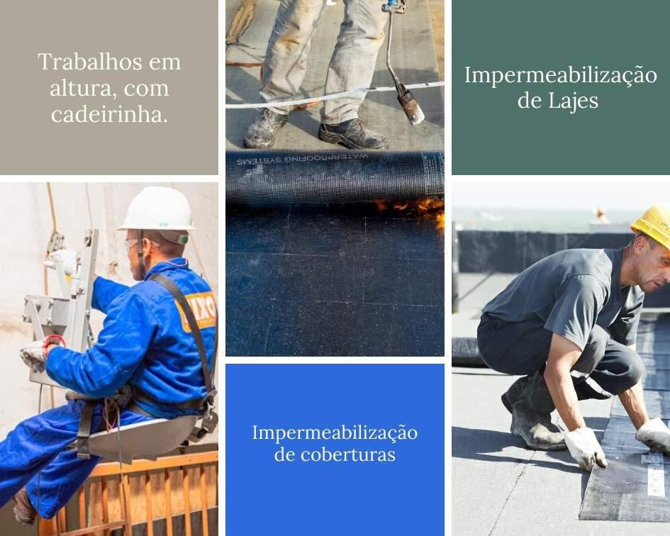 imperme - Impermeabilização Caixa d'água, Cisterna, Lajes e Pintura de Fachada.